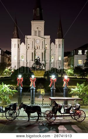 Saint Louis Cathedral Night