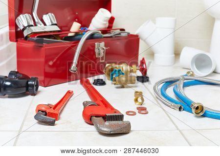 Plumbing constraction tools.