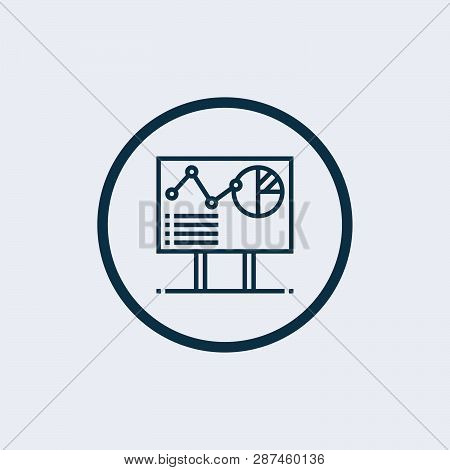 Experiment Results Icon Isolated On White Background. Experiment Results Icon In Trendy Design Style