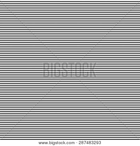 Horizontal Straight Lines With  The White:black (thickness) Ratio Equal With 5:3 Fibonacci Ratio (th