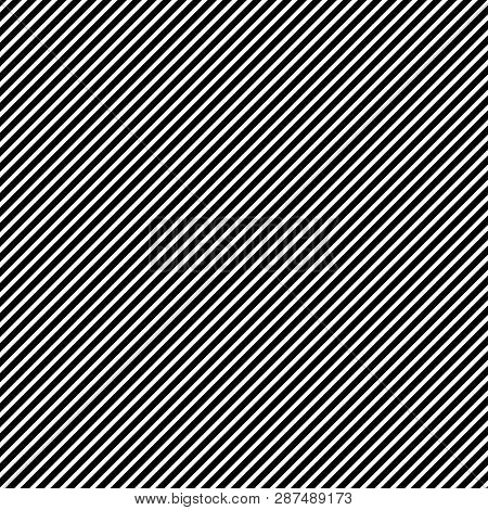 Oblique (45 Degrees) Straight Lines With  The Black:white (thickness) Ratio Equal With 8:5 Fibonacci