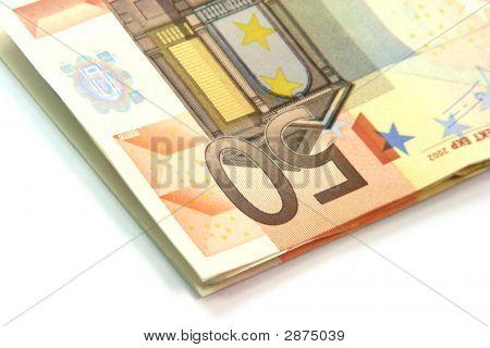 Detail Fifty Euros