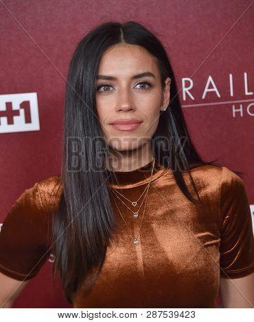 LOS ANGELES - FEB 20:  Jennifer Delgado arrives for VH1's Trail Blazer Honors on February 20, 2019 in Hollywood, CA