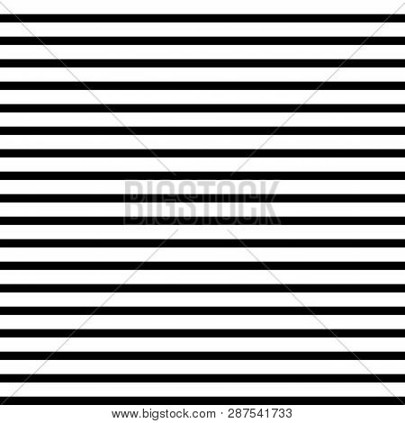 Horizontal Straight Lines With  The White:black (thickness) Ratio Equal With 21:13fibonacci Ratio (t