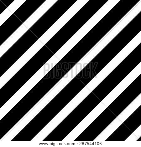 Oblique (45 Degrees) Straight Lines With  The Black:white (thickness) Ratio Equal With 55:34 Fibonac