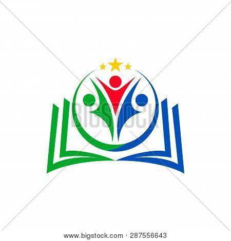 Recruitment Agency - Vector Logo Concept Illustration. Businessman Logo Icon. People Logo Icon. Frie