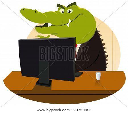 Crocodile Bankster