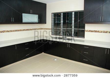 Empty New Kitchen