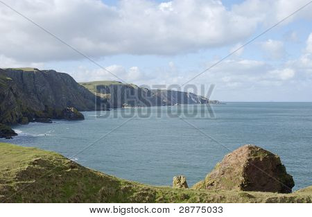 Cliffs And Coast At St. Abbs Head, Berwickshire