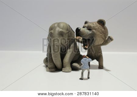 The Statuette Of A Funny Smiling Animal