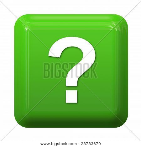 Green question button