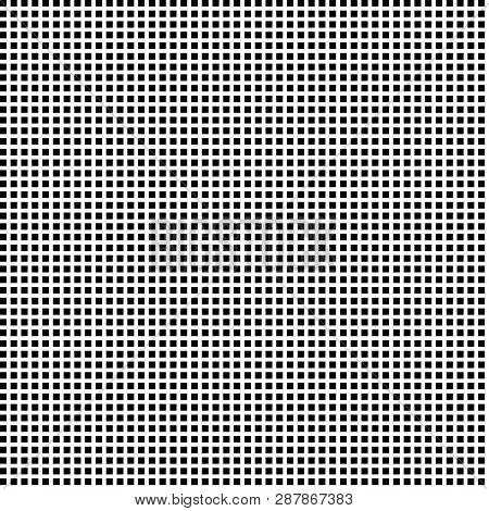 Horizontal And Vertical Black Squares  Aligned With Black:white (space) Ratio Equal With 8:5  Fibona