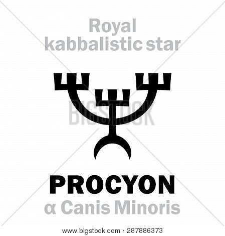 Astrology Alphabet: Procyon (alpha Canis Minoris / Antecanis), Canis Minor (the Throat Of The Little
