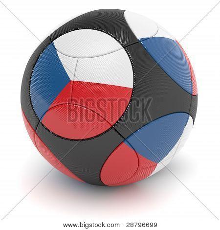 Czech Republic Soccer Ball