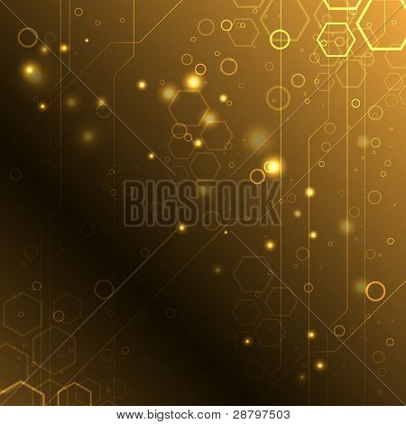 Abstract High-tech Background