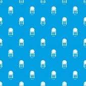 Dresser pattern seamless blue repeat for any use poster