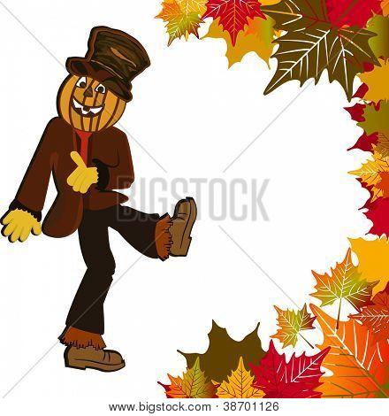 Scarecrow fall design