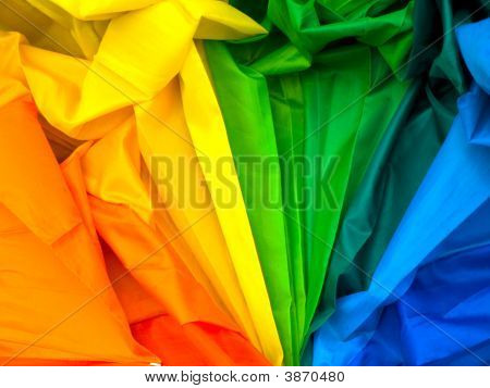 Colourful Fabric Pattern Across Full Spectrum