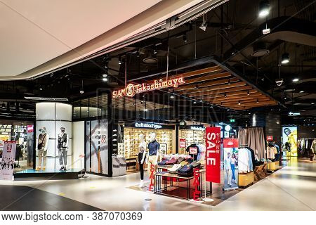Bangkok, Thailand - Sep 17, 2020: The Siam Takashimaya Which Is The Japanese Selected Department Sto