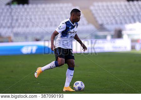 Torino, Italy. 26th September 2020. Luis Muriel Of  Atalanta Bergamasca Calcio  During The Serie A M