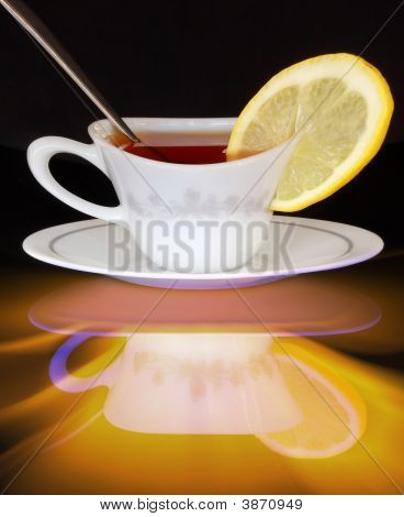 Twisted Tea With Lemon