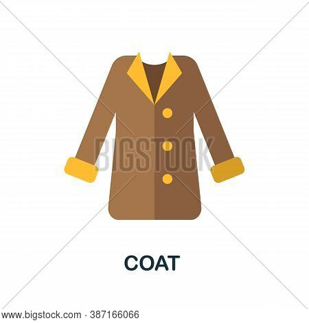 Coat Icon. Simple Element From Autumn Collection. Creative Coat Icon For Web Design, Templates, Info