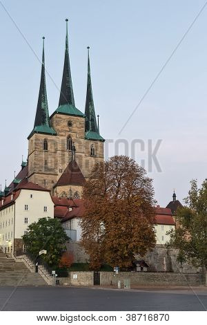Severikirche in Erfurt, Deutschland