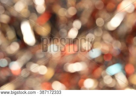 Abstract Blurred Light Background. Conceptual Background For The Design