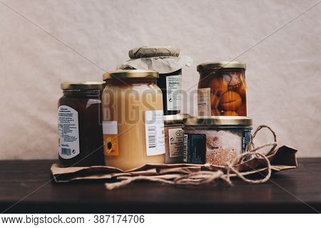 Jars And Preserves Of Local Products, Gourmet Products