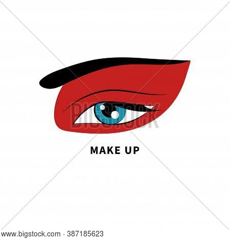 Creative Make-up Logo. Beauty Icon. Make Up Artist