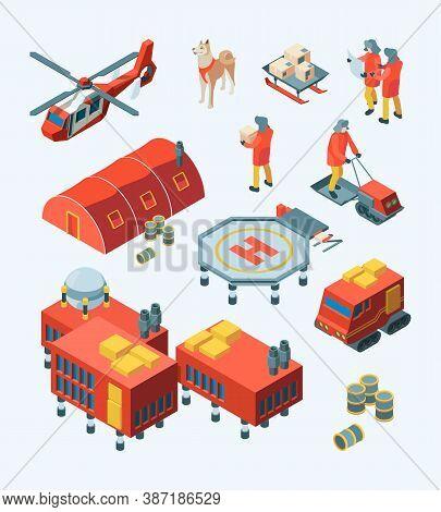 Arctic Explorer. Meteorology Polar Expedition North Pole Tourism Ship Transport Specific Buildings V