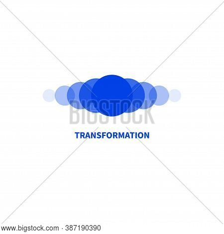 Coaching Logo. Transforming, Transformation Icon. Symbol Of Coach