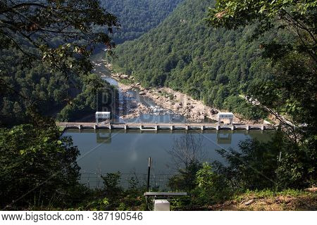 The Hawks Nest Dam Is A Hydroelectric Facility And Is Related To The Hawks Nest Tunnel Disaster. The