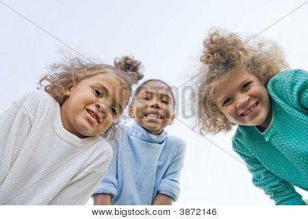 Three Girls Having Fun