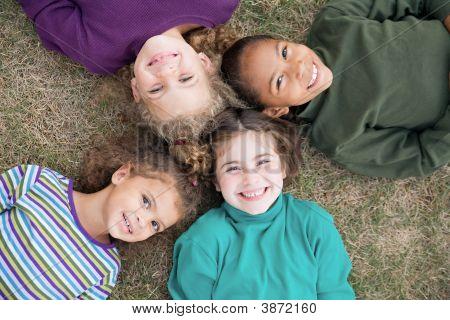 Four Girls Smiling