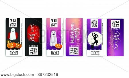 Happy, Halloween, Party, Poster, Print, Printing, Invitation, Nightclub, Ticket, Ready, Layout, Coll