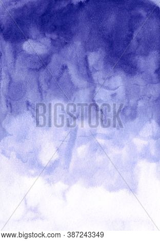 Paper Art Abstract Watercolor Background Gradient For Decoration Design. Abstract Wallpaper. White A