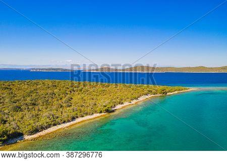 Beautiful Coastline On The Island Of Dugi Otok On Adriatic Sea In Croatia