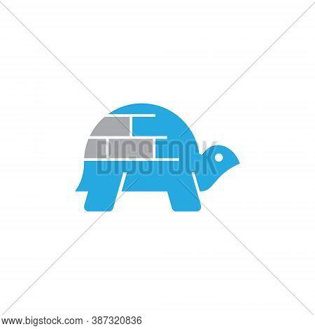 Ice Igloo House Shell Turtle Tortoise Wildlife Abstract Logo