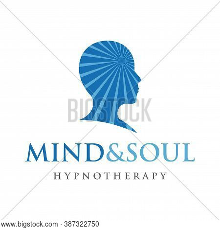 Psychology Logo, Hypnotherapy And Healing Logo Vector