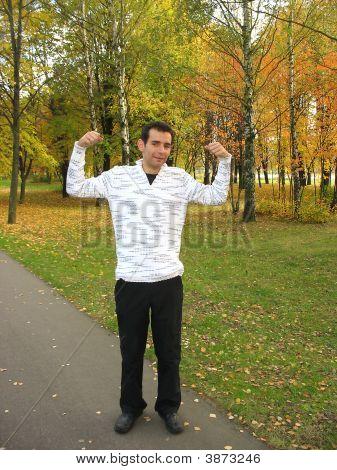 Exercising In Autumn