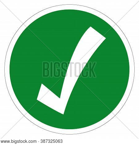 Safety Condition Symbol, Vector Illustration, Isolate On White Background Label. Eps10