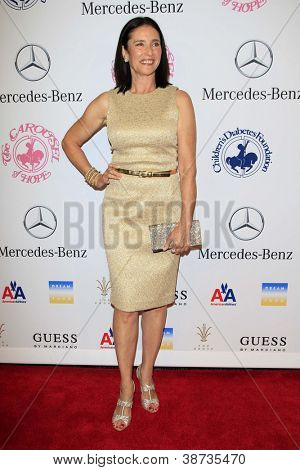 LOS ANGELES - OCT 20:  Mimi Rogers arrives at  the 26th Carousel Of Hope Ball at Beverly Hilton Hotel on October 20, 2012 in Beverly Hills, CA