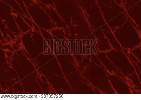 Abstract Red Marble Texture For Background Or Tiles Floor Decorative Design.