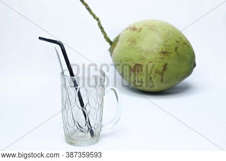 Green Coconut A Natural Fresh Drink