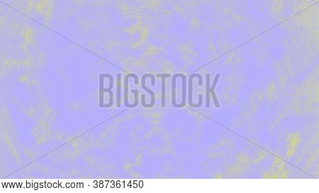 Ceramic Background With Paint Brush Strokes Pattern, Pale Violet And Yellow Patchy Background, 16 On