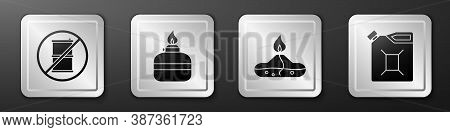 Set No Barrel For Gasoline, Alcohol Or Spirit Burner, Alcohol Or Spirit Burner And Canister For Gaso