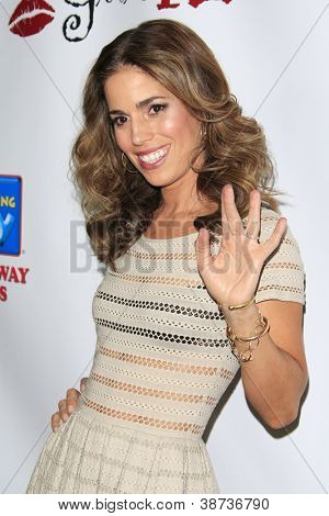LOS ANGELES - OCT 15: Ana Ortiz at the LES GIRLS 12th annual cabaret at Avalon on October 15, 2012 in Los Angeles, California.