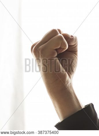 Fist Punch, An Act Of Violence And Aggression Against Others