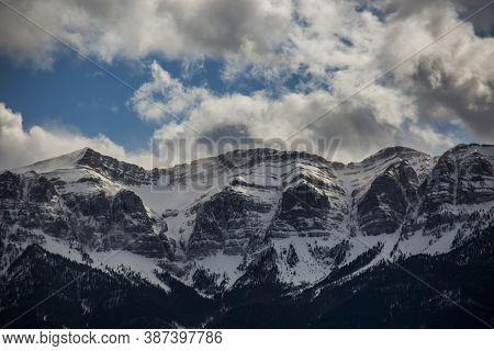 Winter In La Cerdanya, Pyrenees, Spain